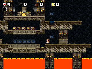 Screenshot of Dr. Wombat's Revenge