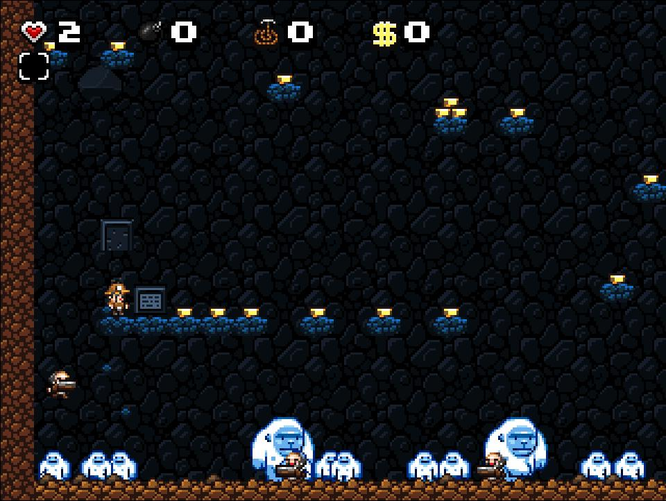 Screenshot of Spelunky Freerunner
