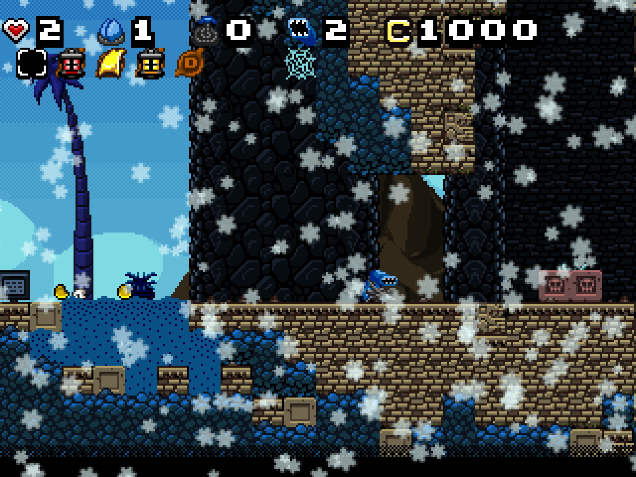 Screenshot of Super ninja 7 - Northern Ice