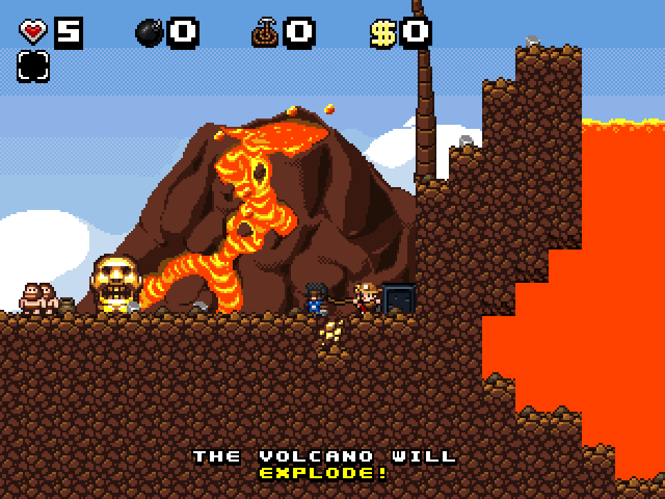 Screenshot of Volcanic eruption